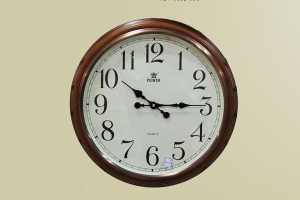霸王钟表 木质 钟表