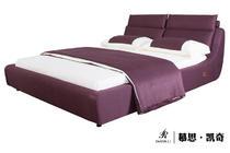 慕思凯奇 现代风格 布艺 标准床